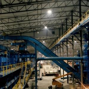 Intérieur industrielle