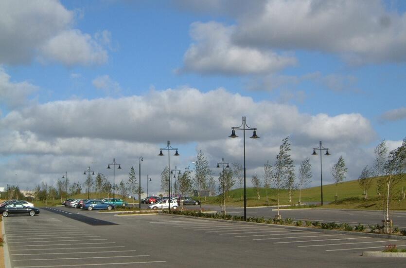 Éclairage Architectural de Parc de Stationnement